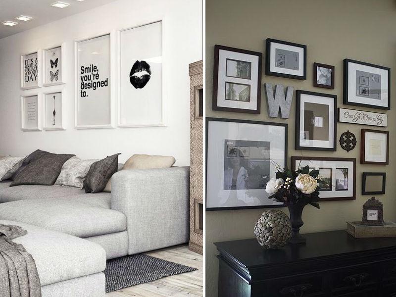 Sala De Estar Com Quadros Modernos ~ não fica um charme montar ambientes com quadros em preto e branco