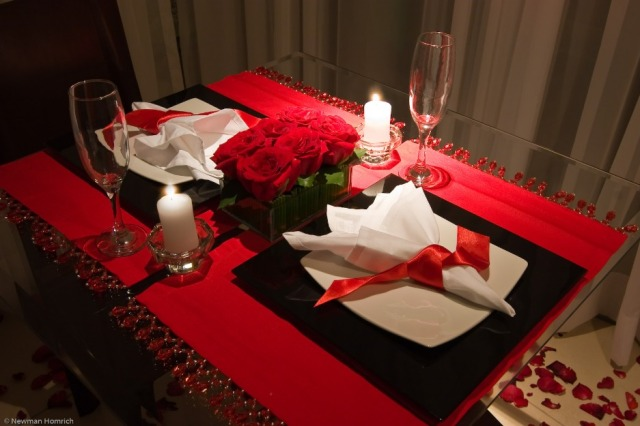 decoracao de jantar romantico 4