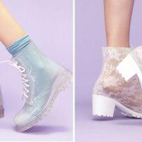 Tendência | Botas Transparentes (Jelly Boots)